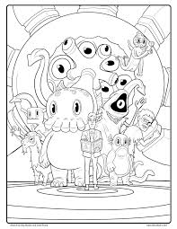 Best Of Free C Is For Cthulhu Coloring Sheet Cool Thulhu Free