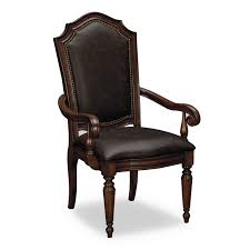 Genuine Leather Dining Room Chairs High Back Dining Chair Sold Set Wall Mirrors Beautiful Designs