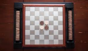 Wooden Othello Board Game Custom Hardwood Stainless Othello Chess Board IndustriumVita 21