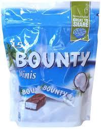 bounty chocolates pouch mini 427 5 gms