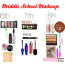 middle makeup 6th 7th 8th polyvore