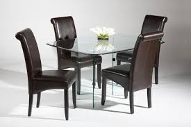 Buy John Lewis Gene  Seater Rectangular Dining Table Glass Online - Kitchen dining room table and chairs