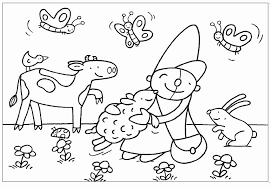 Kleurplaat Pompom Uniek Thema S Onderbouw Mijnyurlspagina