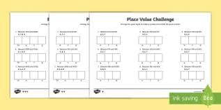 Place Value Flip Chart Printable Place Value Ks2 Resources