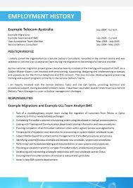 Resume Content Writer Resume