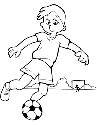 Soccer Coloring Pages Printable Messi Player Hiscafulcom