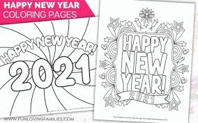 The chinese zodiac proves to be advantageous for the ox. Happy New Year Coloring Pages For 2021 Fun Loving Families