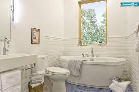 bathroom chair rail designs. ideas of a bathroom with subway tile and chair rail designs i