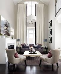Two Story Living Room Curtains Living Room Curtains For High Ceilings Ideas Contemporary Villa
