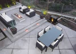Backyard Concrete Designs New Back Patio Outdoor Living Concrete Backyard Landscaping Quality