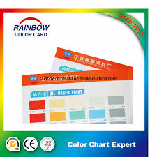 Printing Colour Chart Hot Item Emulison Coating Offset Printing Colour Card