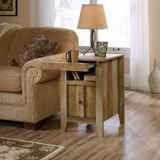 sauder dakota pass end table in craftsman oak