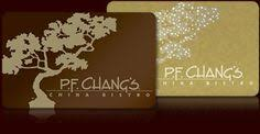 Image result for all pf changs gift card images