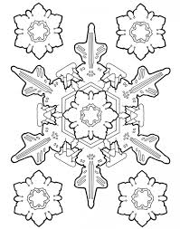 Small Picture Snowflake Coloring Pages Elioleracom
