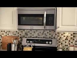 over the stove microwave. Frigidaire Gallery Over The Range Microwave Stove