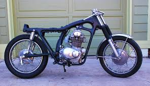 1971 honda cb350 cafe racer episode 5 rolling chassy vintage ocd