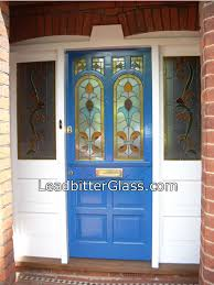 victorian stained glass door 2 overlay stained glass