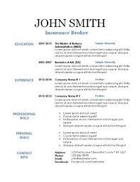 Resumes Templates Inspiration Printable Free Resumes Free Printable Resumes Perfect
