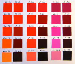 Red Color Wheel Chart Analogous Red Session 3 Color Synesthesia