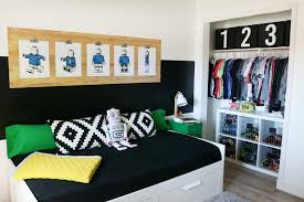 Living Room Closet Ideas Impressive Boys Room Easy Closet Organization And Decor Ideas