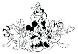 4 Disney Coloring Page Disney Winter Coloring Page Wecoloringpage