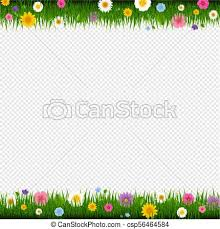 grass and flowers border.  Flowers Grass And Flowers Border Transparent Background  Csp56464584 For F