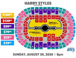 Rimac Arena Seating Chart Harry Styles Pechanga Arena San Diego