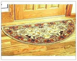 half moon rugs kitchen circle contemporary area astonishing rug red argos hearth small fantastic rk