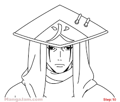 How to Draw Kakashi Hokade from Naruto - Mangajam.com