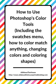 How to back up color swatches. How To Use Color Swatches In Photoshop Photoshop S Color Menu All About Planners