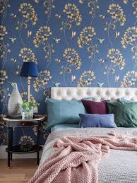 bedroom ideas blue. Bedroom - Mid-sized Transitional Master Medium Tone Wood Floor Idea In Moscow With Ideas Blue B