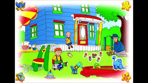 caillou games dinosaur game game videos for kids