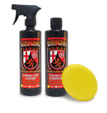 wolfgang leather care combo wolfgang leather cleaner wolfgang leather conditioner