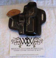 wts wright leather works custom owb holster for glock 19 23 32