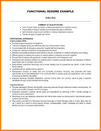 Resume Qualifications Summary 100 qualifications summary example letter of apeal 21