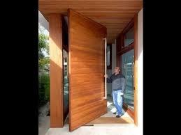 Big Front Door, Large Wooden Door Installation