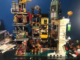 WIP Ninjago City MOC : lego