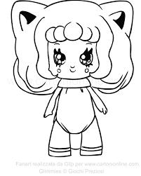 Disegno Di Foxanne Delle Glimmies Da Colorare Con Disegni Unicorno