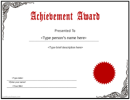 templates for certificates of completion printable achievement certificate templates