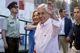 Casado con cecilia morel, padres de 4 y abuelos de 13. Conservative Billionaire And Former President Sebastian Pinera Easily Wins Chile Election Chicago Tribune