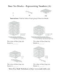 Base Ten Worksheets As Well Place Value Block Buddies Inspiring ...
