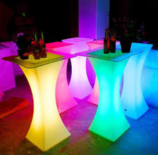 Lighted Cocktail Tables For Rent Led Cocktail Table Light Table Cocktail Tables Led Furniture