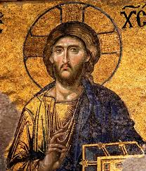 hagia sophia christ pantocrator mosaic image