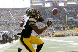 Iowa's Brandon Smith happy to have Five Guys around, continues to emerge as  wide receiver | The Gazette