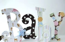 letter ideas for nursery wall wooden letters designs wall decor idea guru how to decorate large