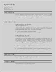Sales Associate Resume Sample Resume For Sales Associate New Awesome ...