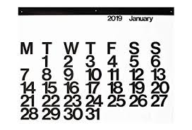 Amazon Com 2019 Stendig Wall Office And Home Calendar