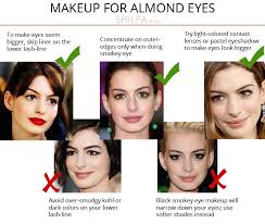what s your eye shape best makeup for