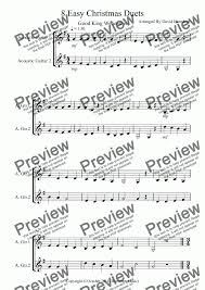 Ships from and sold by amazon.com. 8 Easy Christmas Duets For Guitar Download Sheet Music Pdf File