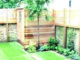 make a privacy screen freestanding outdoor patio privacy screen garden screens bamboo beautiful wooden for full